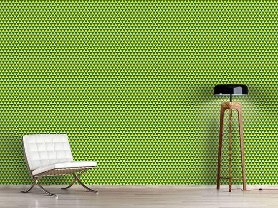 Design #Tapete Dreiecke Zeigen Den Weg