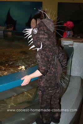 Angler fish fish costume and fish on pinterest for Angler fish costume
