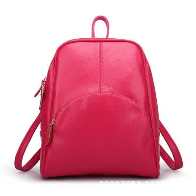 2015 Women Leather Backpack Black Vintage Mochila Korean Style Student Backpacks Casual Travel Bag Bolsa Feminina XA755A