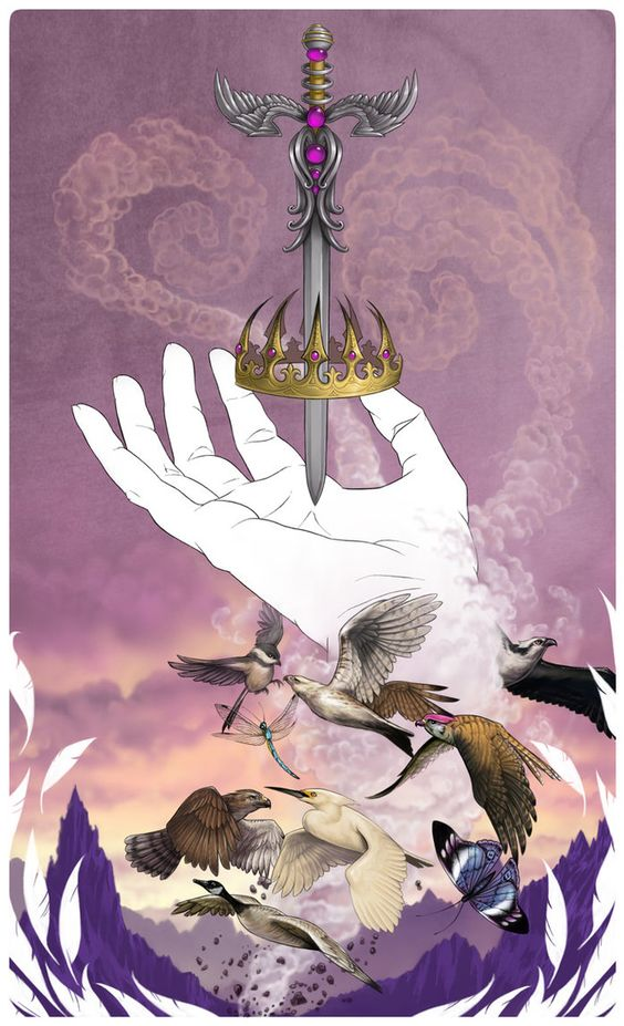 Ace of Swords by Enchantress-LeLe at DeviantArt