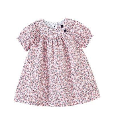 Baby girl Liberty print cotton blouse
