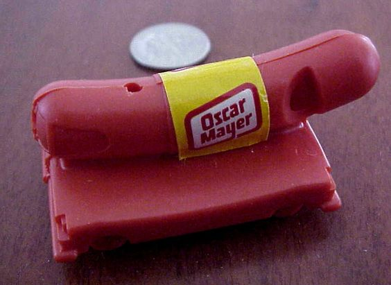 TWO 2 VINTAGE OSCAR MAYER WEENIE MOBILE WHISTLE 253078476302 additionally Vintage Oscar Mayer Wienermobile Whistle 260p besides Wienermobile Arriving At Willis Wonderland 2 Pm Today in addition Vintage Oscar Mayer Wiener Whistle 1970s in addition 261019. on oscar mayer weenie whistle