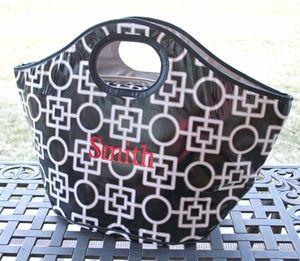 Insulated Cooler Tote - Black Leta $31.95