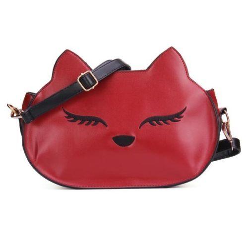 Fashion-Kawaii-Fox-Head-Faux-Leather-Messenger-Should-Bag-Card-Coin-Purse-Women
