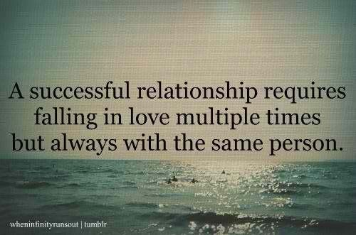 A successful relationship...