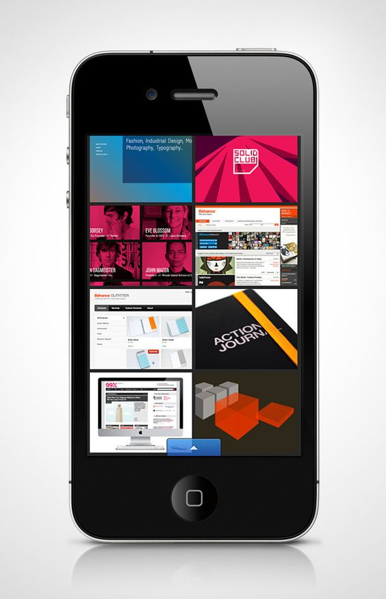 Behance Network Official iPhone App on the Behance Network