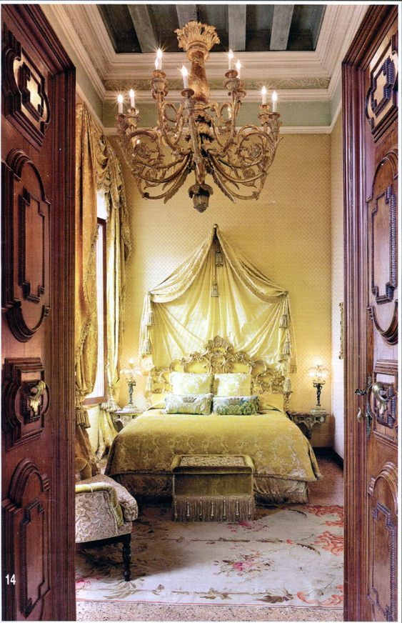 Shabby Castle Chic Rich And Gorgeous Home Decor Venice