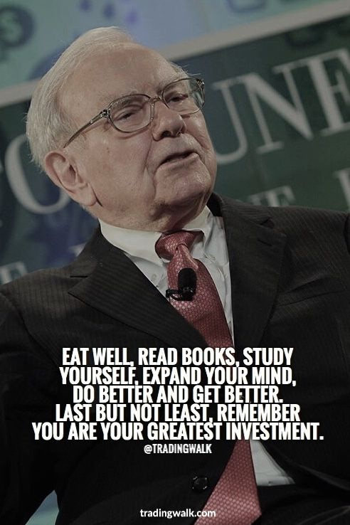 Warren Buffett Top Advice Invest In Yourself Business Quotes Financial Quotes Motivational Quotes
