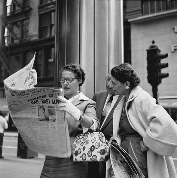A Vivian Maier image. Now there was a woman with camera! Really like this one.