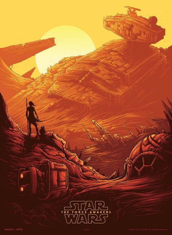 AMC Release First Official IMAX Poster for Star Wars: The Force ...