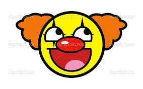 As clown