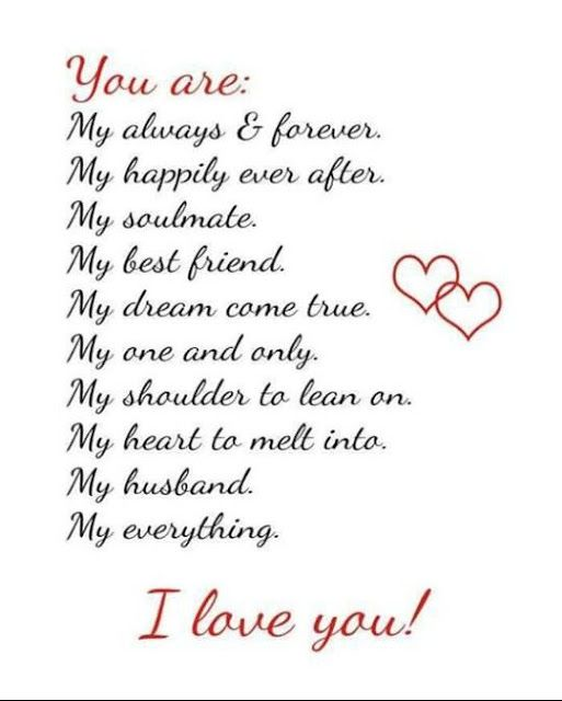 1001 Love Quotes For My Husband And Wife | Love Quotes ...