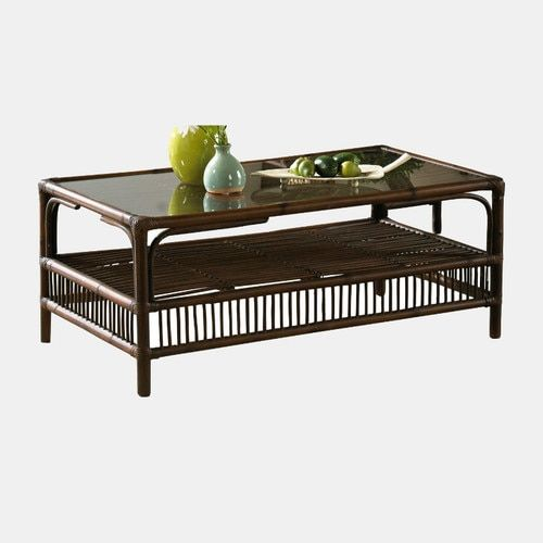 Bora Bora Coffee Table With Glass Rattan Coffee Table Coffee