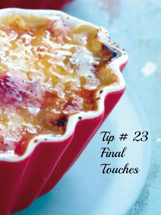 3 DAYS UNTIL PASSOVER Tip #23- Final Changeovers