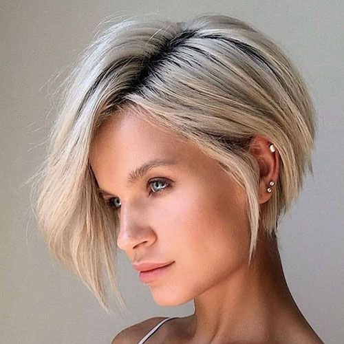 45 Best Short Hairstyles For Thick Hair 2020 Guide Inverted Bob Hairstyles Bobs Haircuts Bob Hairstyles