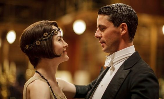 Lady Mary and Henry Talbot in the Downton Abbey Season 5 Christmas Special: