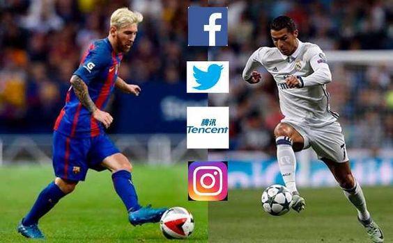 CR7 Vs Messi, ¿quién gana la batalla de las redes sociales?