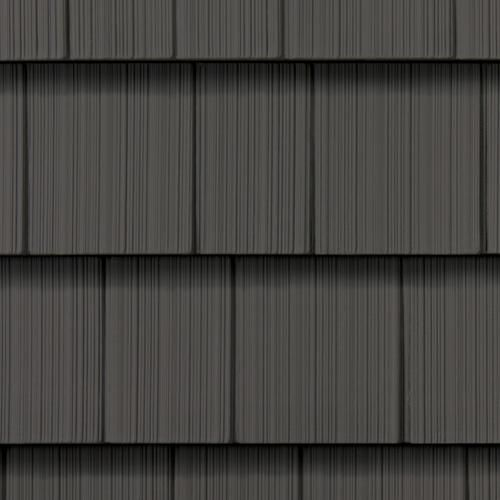 Northwoods Single 7 Slate Straight Edge Perfection Shingles Vinyl Shingle Siding Blue Vinyl Siding Blue Siding