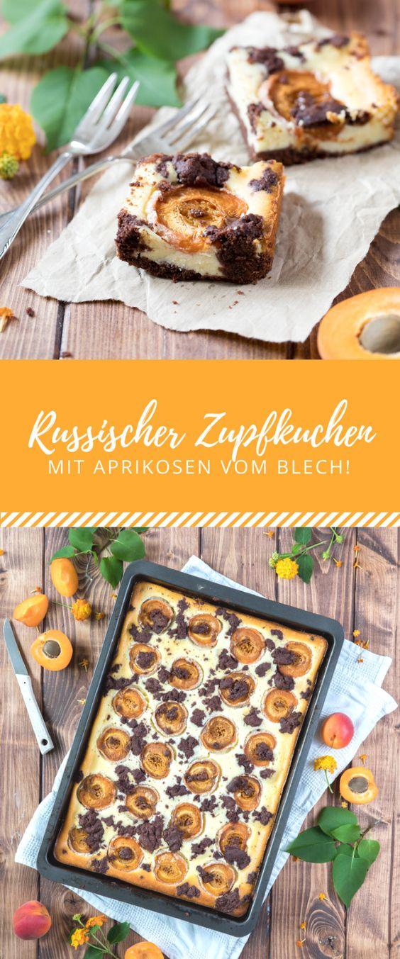 Russischer Zupfkuchen mit französischen Aprikosen vom Blech!
