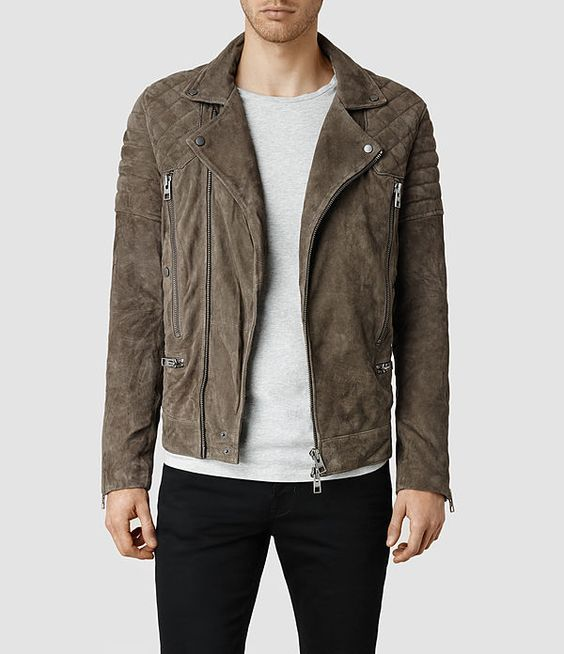 Men's leather, Men's style and Biker jackets on Pinterest