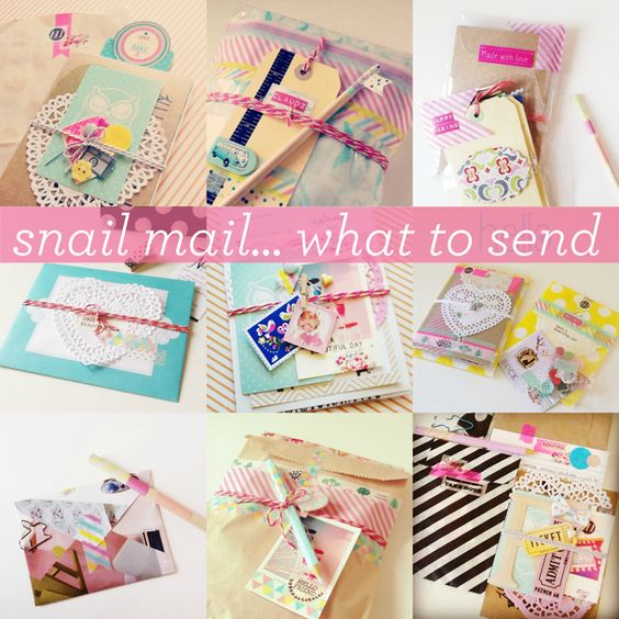 Snail Mail: Tip Mini Series #2 >I like the idea of a charm on string wrapped round the package :)