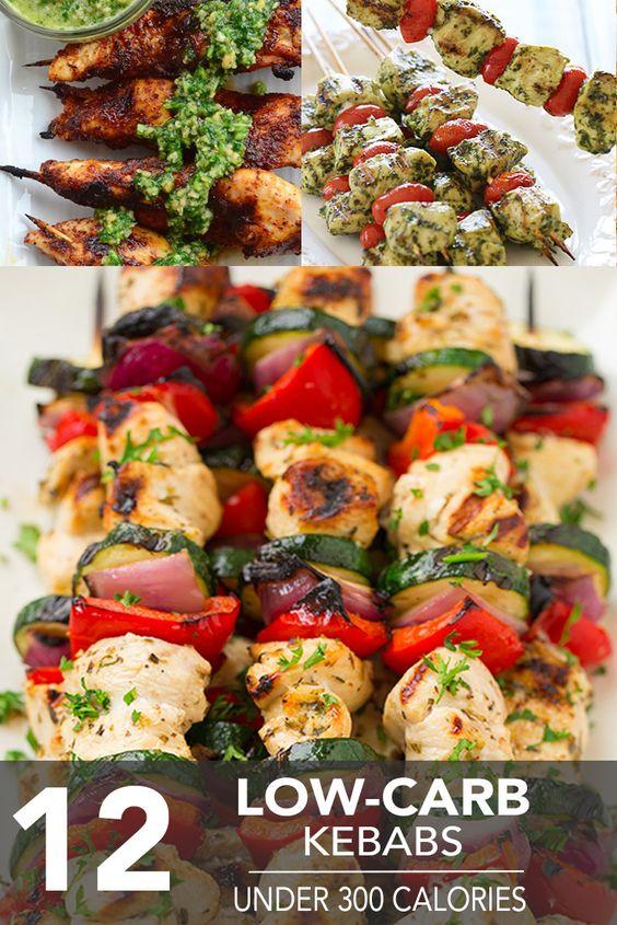 12 Low-Carb Kebabs Under 300 Calories - Hello HealthyHello Healthy