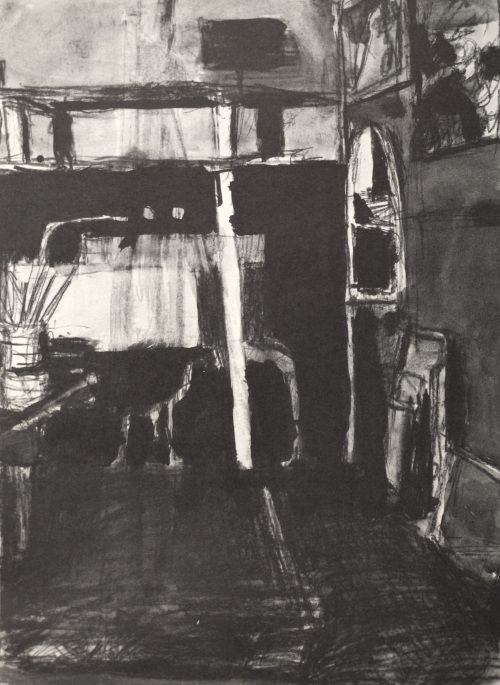 Richard Diebenkorn's Ink-Wash Drawings