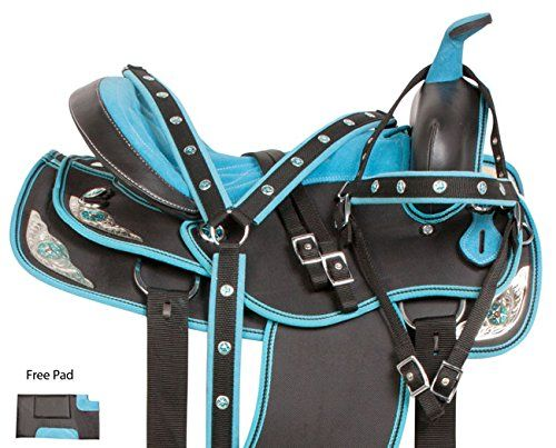 New Synthetic Western Horse Saddles with pad Stylish Western  saddle All Size