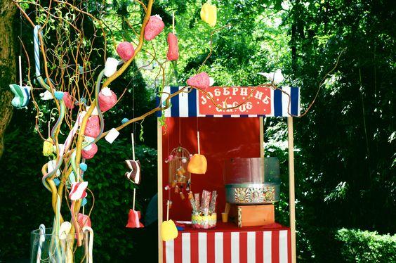 Marie Chemorin | Anniversaire Cirque revisité par Willy Wonka ©Régine Abadia #decoration #deco #circus #bonbon #candy #willywonka #anniversaire #birthday #mariechemorin