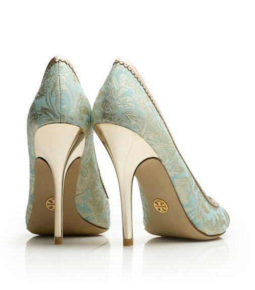 Chantalle Open Toe Pump | Womens Heels | ToryBurch.com