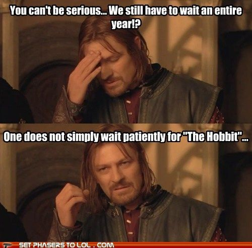 So very, very true !!! Thankfully, only until December!!!: Rings Hobbit, Giggle, My Life, Funny Stuff, So True, Middle Earth, Sci Fi, Lotr Hobbit, Lord Of The Rings