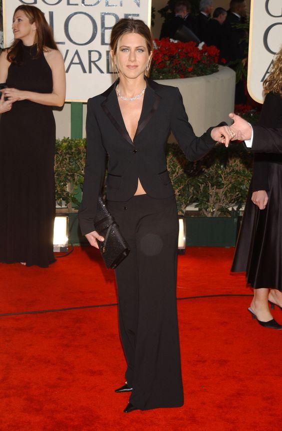 59th Golden Globes - 2002 |  via @stylelist
