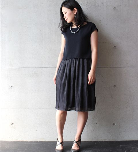 layered dress from nitca