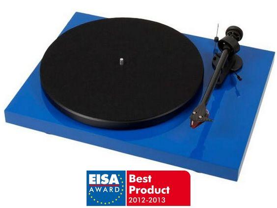 Meilleur platine vinyle : Pro-Ject Debut Carbon Blue (Platine Vinyle)