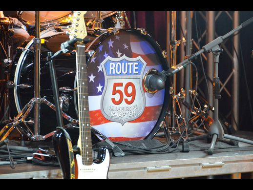 Route 59, le groupe de Rock et Blues officiel du HOG Lille Europe Chapter