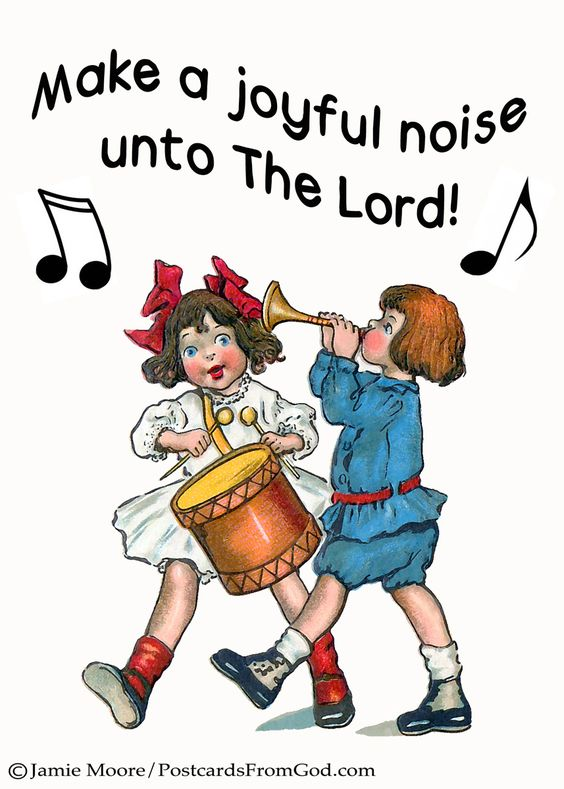Image result for Make a joyful noise to God