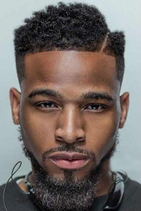 Coiffure homme cheveux afro en 2019
