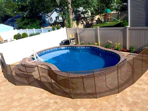 Pin By Pool And Spa Depot On Stealth Semi In Ground Pools In Ground Pools Backyard Patio Designs Diy Pool