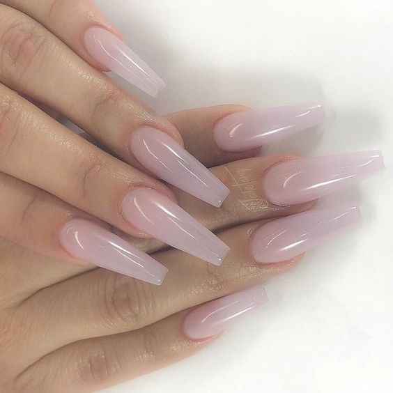 30 Cute Natural Light Pink Nails Design For Young Lady Cute Acrylic Nails Gorgeous Nails Shellac Nail Designs