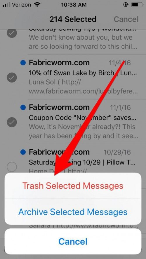 How To Delete Instead Of Archive Your Emails On Iphone Iphonelife Com Your Email Inbox Zero Coding