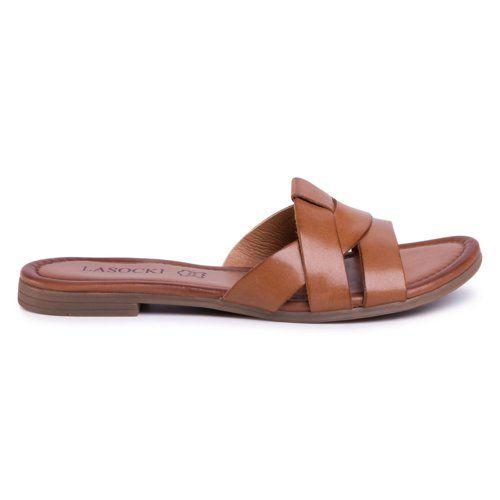 Klapki Lasocki Wi23 Rupia 02 Brazowy Damskie Buty Klapki Https Ccc Eu Shoes Fashion Sandals