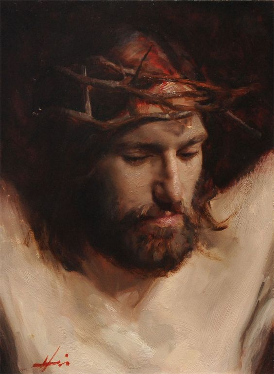 The Crucified Christ by Jeffrey Hein Jeff is an amazing artist. I'm lucky to have known him and his art. (Salt Lake City, Utah)