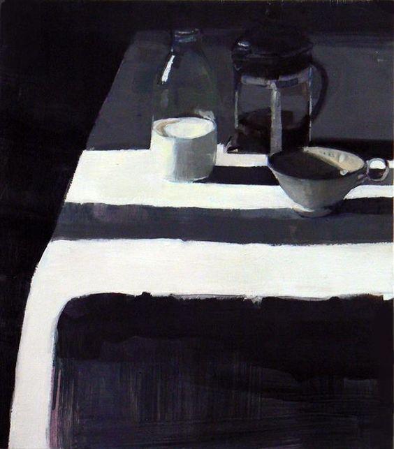 Susan Ashworth Milk Bottle and Cafetiere