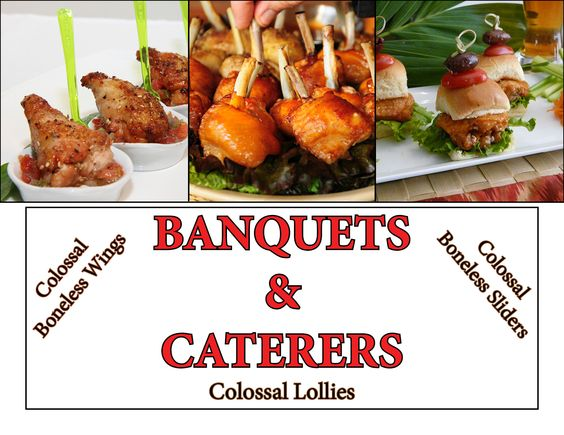 Good for Banquets, Caterers, & Parties!