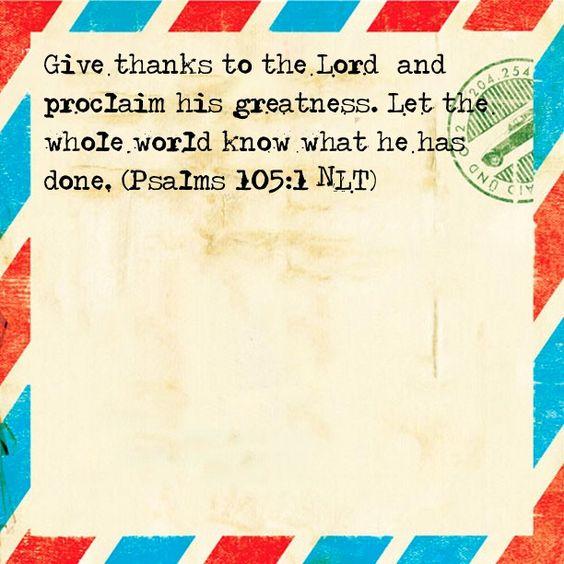 Psalms 119:105 NLT