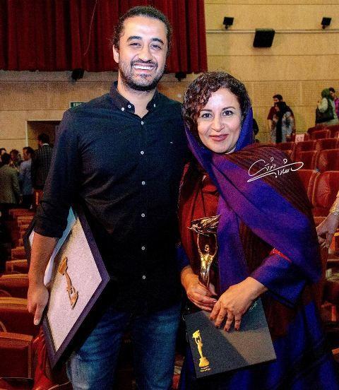 بازیگر نقش مادر ریگی در کنار پسر واقعی اش Iranian Women Air Plants Decor Persian Girls