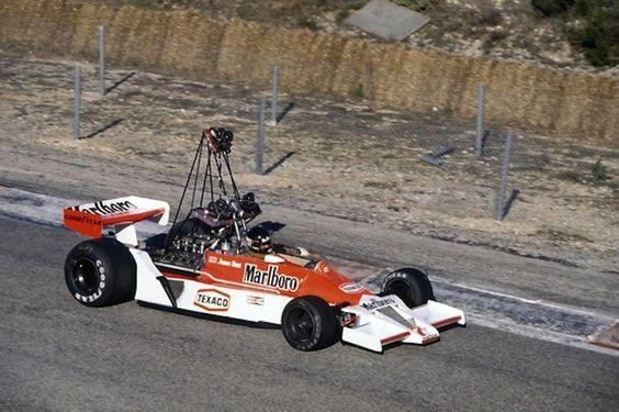 James Hunt - McLaren 1978 Camera Car