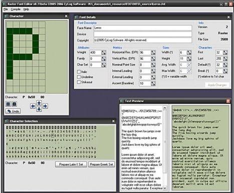 articuloseducativos.es: Herramientas para editar y crear fuentes