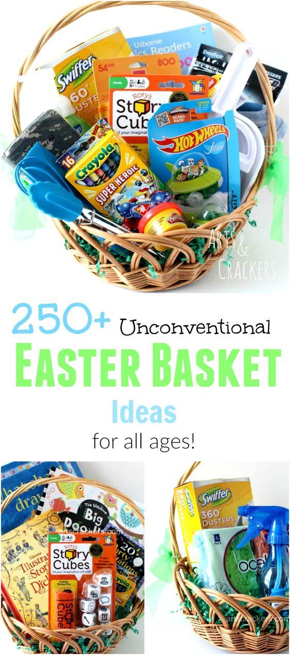 Baby Gift Basket Filler Ideas : Unconventional easter basket ideas themed baskets