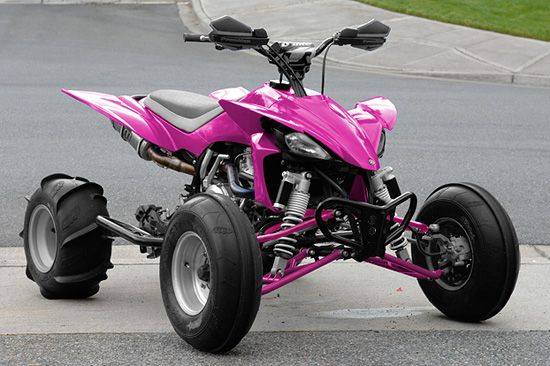Pink Four wheeler!  For when I live in the country.